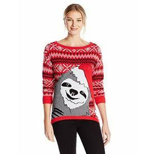 Ugly Christmas Sweater Sloth Fair Isle